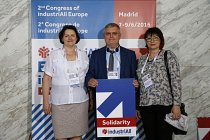 II Kongres IndustriAll European Trade Union w Madrycie 6-9 czerwca 2016.